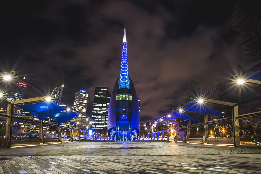 2x3, Australia, Bell Tower, Cityscape, Long Exposure, Night photography, Perth City, Western Australia, perth